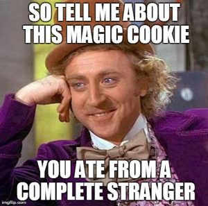 so tell me about this magic cookie
